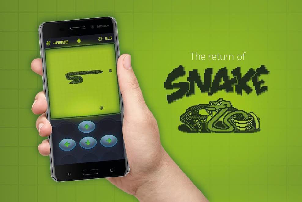 Design Nokia Snake Game