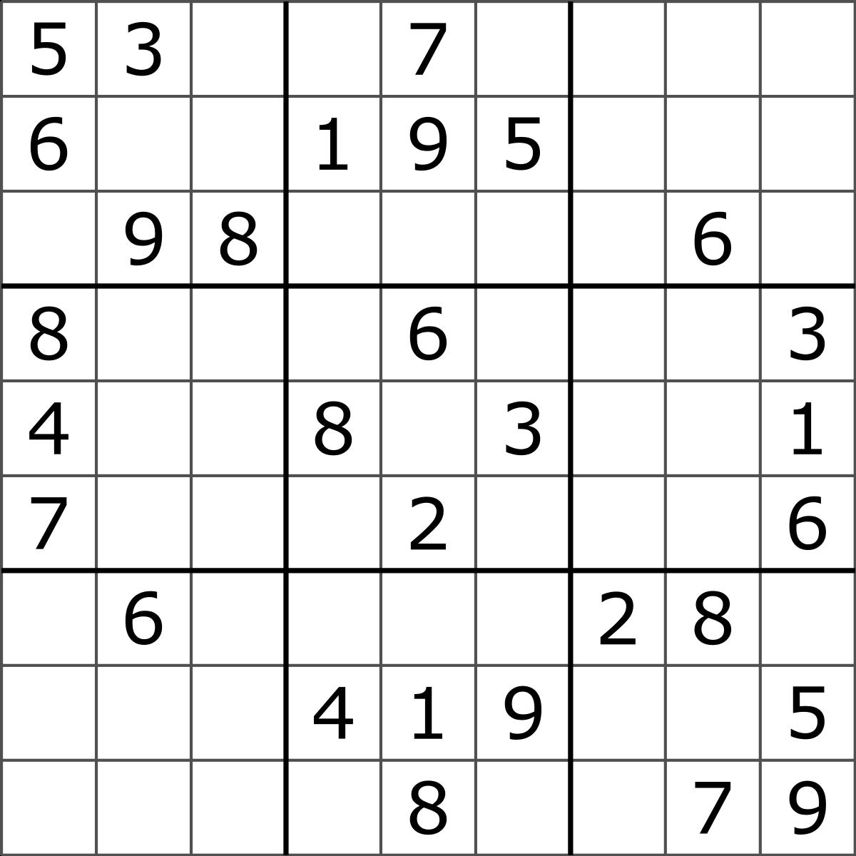 Design Sudoku